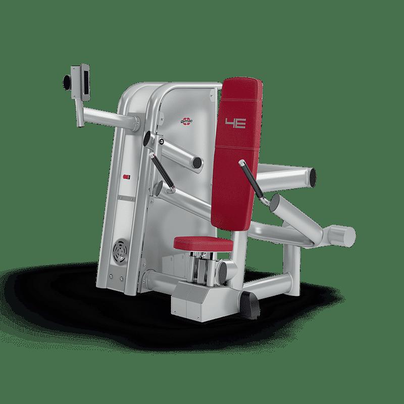 Das Training an der Trizepsmaschine im Sportstudio ist Teil des 20 Minuten Ganzkörpertrainings an den 4E-Trainingsgeräten.
